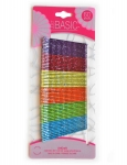 BOBBY PINS WITH AB GLITTER 60PK