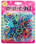 MINI ELASTICS OUCHLESS COLOUR 500PK
