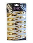 SNAP CLIPS GOLD 12PK