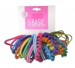 ELASTICS (24 PACK) COLOR