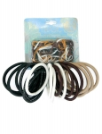 18PK N0 METAL ELASTICS & 75PK OUCHLESS - NATURAL & DENIM