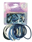 24PK N0 METAL ELASTICS & 75PK OUCHLESS - NATURAL & DENIM