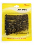 HAIR PINS BRONZE 60PK
