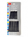 BOBBY PINS (2 SIZES) BLACK 60PK
