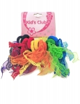 TUTU PONYTAIL 12PK W LACE (HEARTS)