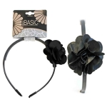 HEADBAND METAL W/FLOWER