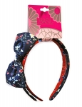 HEADBAND (2PK) 1 W/ BOW + 1 W/OUT BOW FLORAL