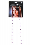 BEADED EXTENSIONS METALLIC DIAMOND - 2PK BOBBY PIN