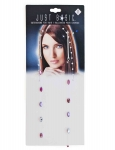 BEADED EXTENSIONS CRYSTAL DIAMOND - 2PK BOBBY PIN