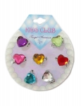 RINGS HEART SHAPE 7PK