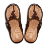 100% RUBBER SANDAL (LADIES THONG) WITH STONES