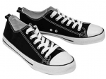 CANVAS SNEAKERS (MENS) SOLID - LOW TOP STYLE