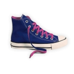 CANVAS SNEAKERS (L) COLOUR LINING & 2 TONE LACES