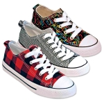 CANVAS SNEAKERS (L) PRINTED - LOW TOP STYLE