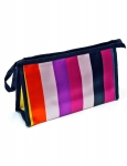 COSMETIC BAG (STRIPES)